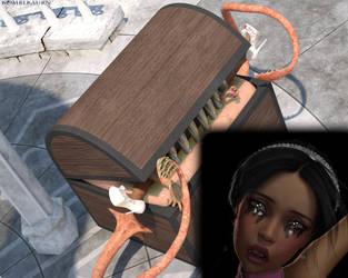 Selena Trapped (Alt) by Komblkaurn