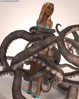 Octopus Trouble 2 by Komblkaurn