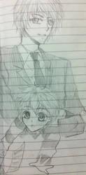 OC_Sketch01 by bluehippopo