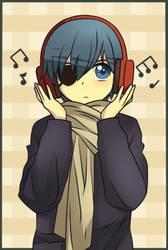 Headphones .:Kuroshitsuji:. by ChibiArmin