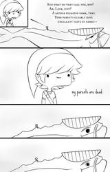 Awkward Adventures with Link Yay by ChibiArmin