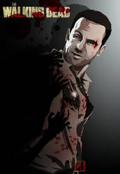 The Walking Dead - Rick Grimes by InvisibleRainArt