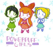 Chibi Powerpuff Girls by Shapoodle4u