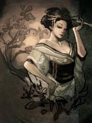 Geisha by Langewong