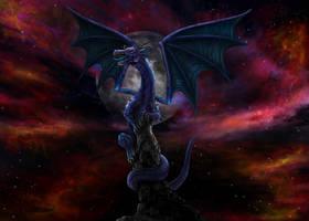 Purple Dragon by Zyari