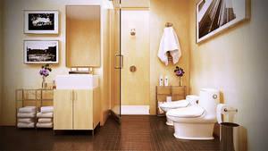 Bathroom by HongPhi