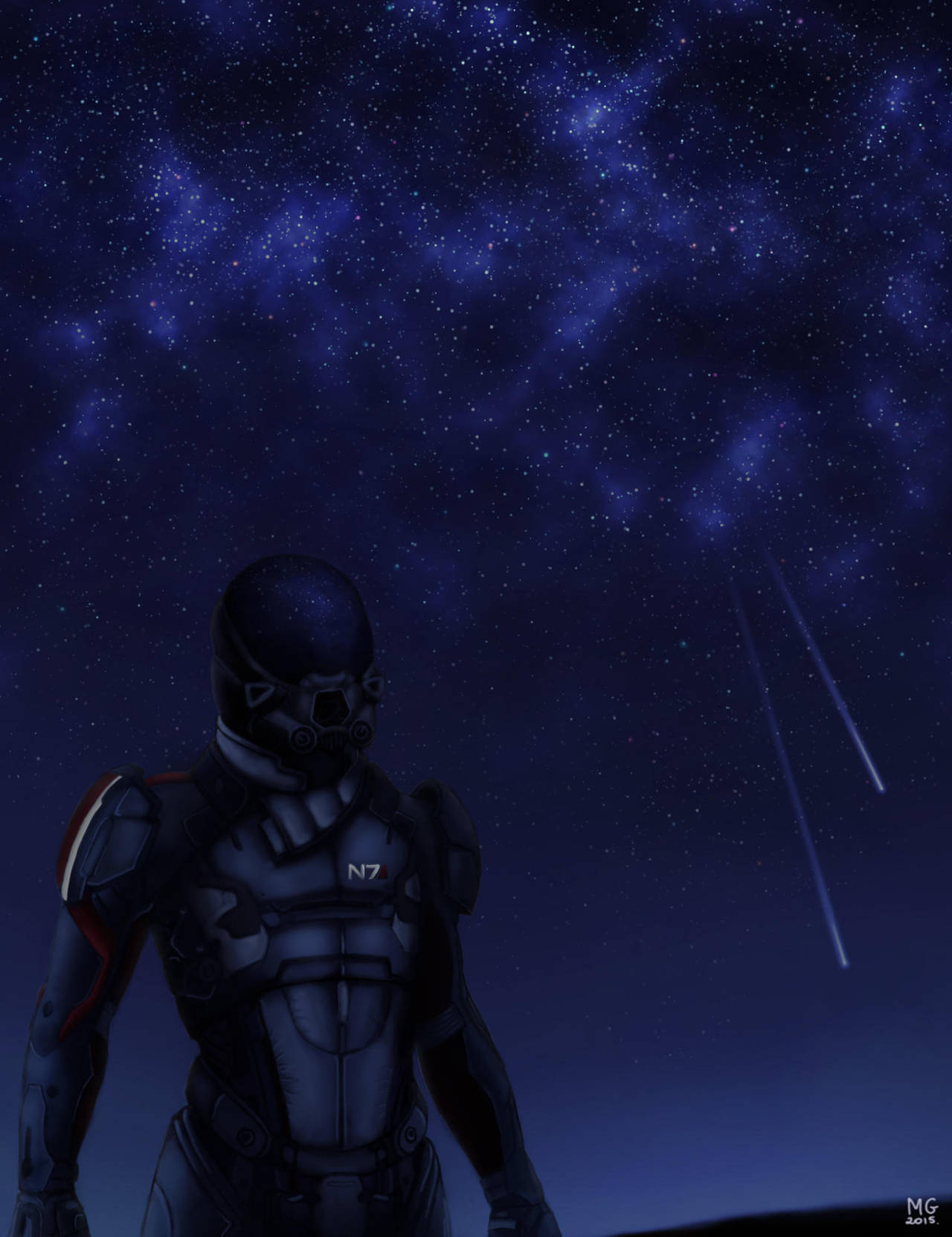 sojourner - Mass Effect: Andromeda fan art by mdzx