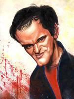 Quentin Tarantino by urbanalegenda