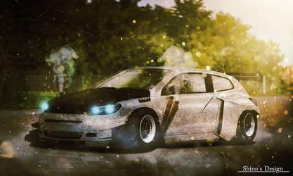 Volkswagen Scirocco Studie R Concept 2008 Tuning by shinoaburame23