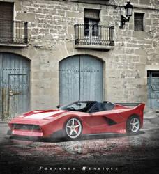 Ferrari-288 GTO-1984 by shinoaburame23