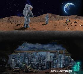 Mars's Underground by shinoaburame23