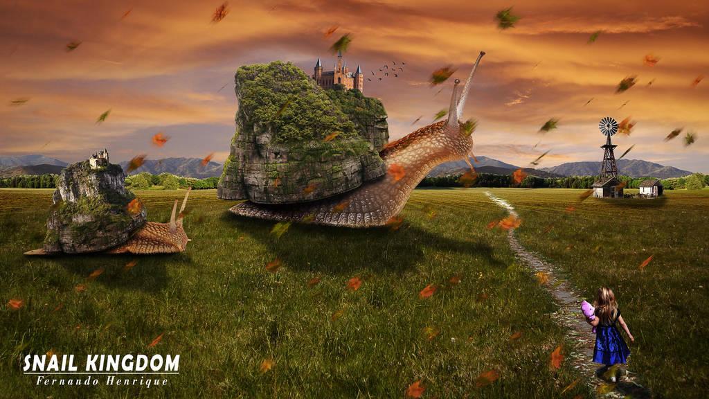 Snails Kingdom by shinoaburame23