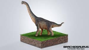 Brachiosaurus by shinoaburame23