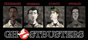 ghostbusters by PotteringAbout