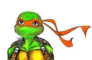 Cute Michelangelo by ramova