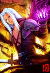 Sephiroth: One Winged Angel by Clearmirror-StillH2O