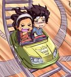 Chibi Coaster ride by Clearmirror-StillH2O