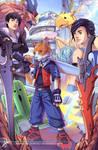 Final Fantasy Themed Commish by Clearmirror-StillH2O