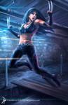 X-23 : Escape by Clearmirror-StillH2O