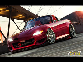 Honda S2000 Red by x-tomi