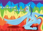 rainbow dash by wangkingfun