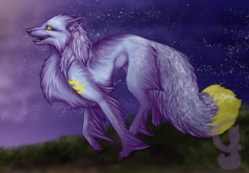 Fanta at dusk by silvermoonfox