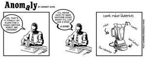 Cartoonist Robot by Melancton