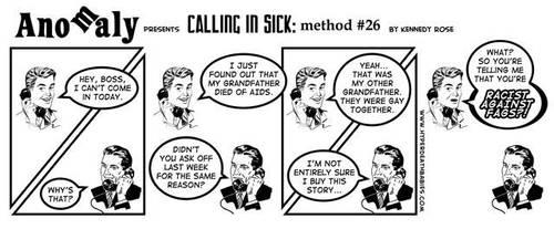 Calling in Sick - Method 26 by Melancton