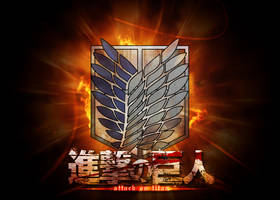 Attack on Titan Wallpaper by DirtPoorRiceKing
