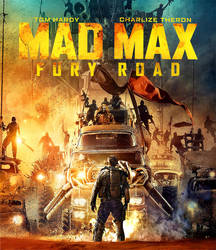 Mad Max Fury Road : Front Cover Blu Ray by sachso74