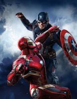 Captain America: Civil War SFX Magazine Cover by sachso74