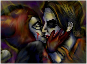 Harley and Joker by MissEgypt