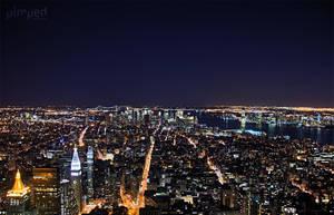 NYC by night by StevenLdk