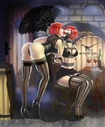 Dirty Kiss by reptileye