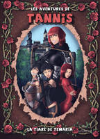 Comic cover - Les aventures de Tannis by reptileye