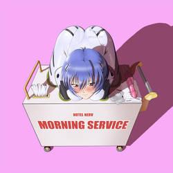 Rei on service by reptileye