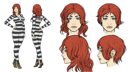 Character Design - Susan2 by reptileye