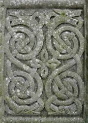 Celtic Cross Detail by Navanna