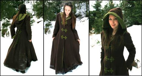 Fantasy Forest Winter Coat by Navanna