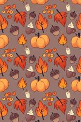 Fall BG by Magicpawed