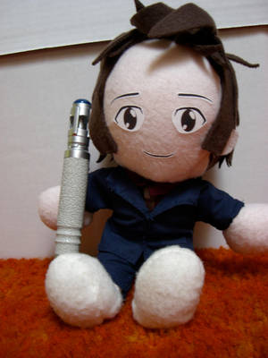 Doctor Who Plushie - Ten by fivefootnothing