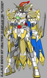 Heaven Gundam G3 (Official HD Colour Complete) by WhiteHawk91