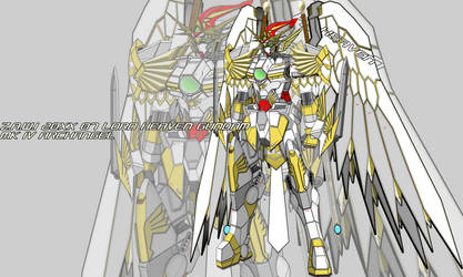Z.A.W.I 20 XX07 Archangel Heaven Gundam MK IV by WhiteHawk91