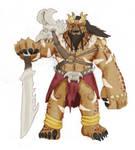 Male Kro'Taruk Warrior by Loganius