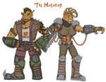 The Makabari- Male and Female by Loganius