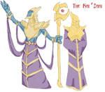 The Kai'Zari- Male and Female by Loganius