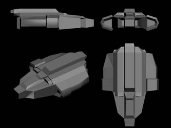 Dlur Escort Ship by Loganius