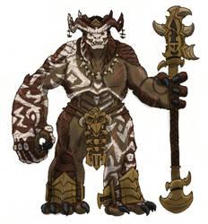 Garonak Rageblade of the Kro'Taruk by Loganius