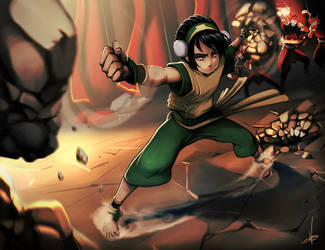 Toph by Raiden-chino