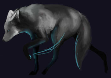 She Glows by happymoonwolf
